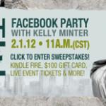 Nehemiah Facebook party   2.1.12