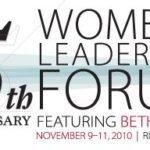 Women's Forum 2010