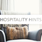 Hospitality Hints | Holiday Hospitality on the Go
