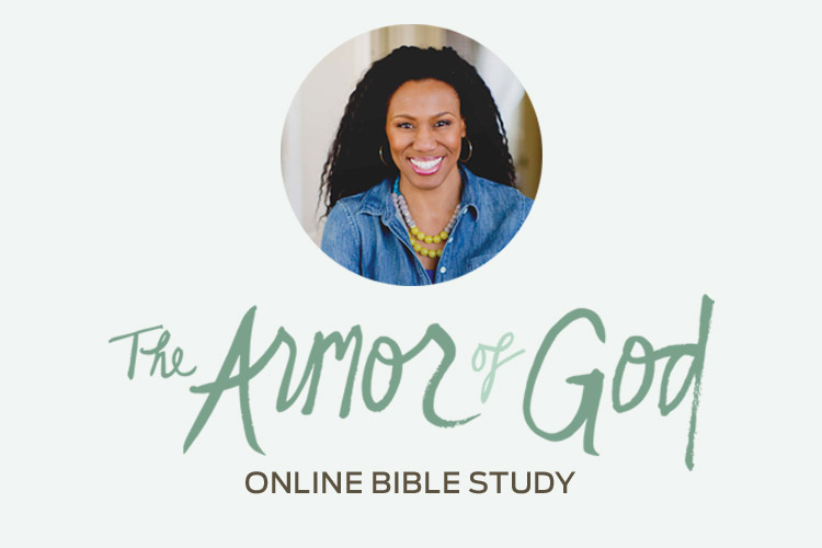 The Armor of God Online Bible Study Header With Priscilla Shirer Photo