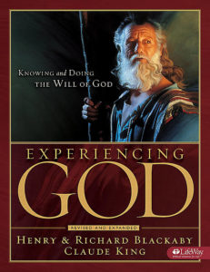 Cover of Experiencing God by Henry and Richard Blackaby and Claude King