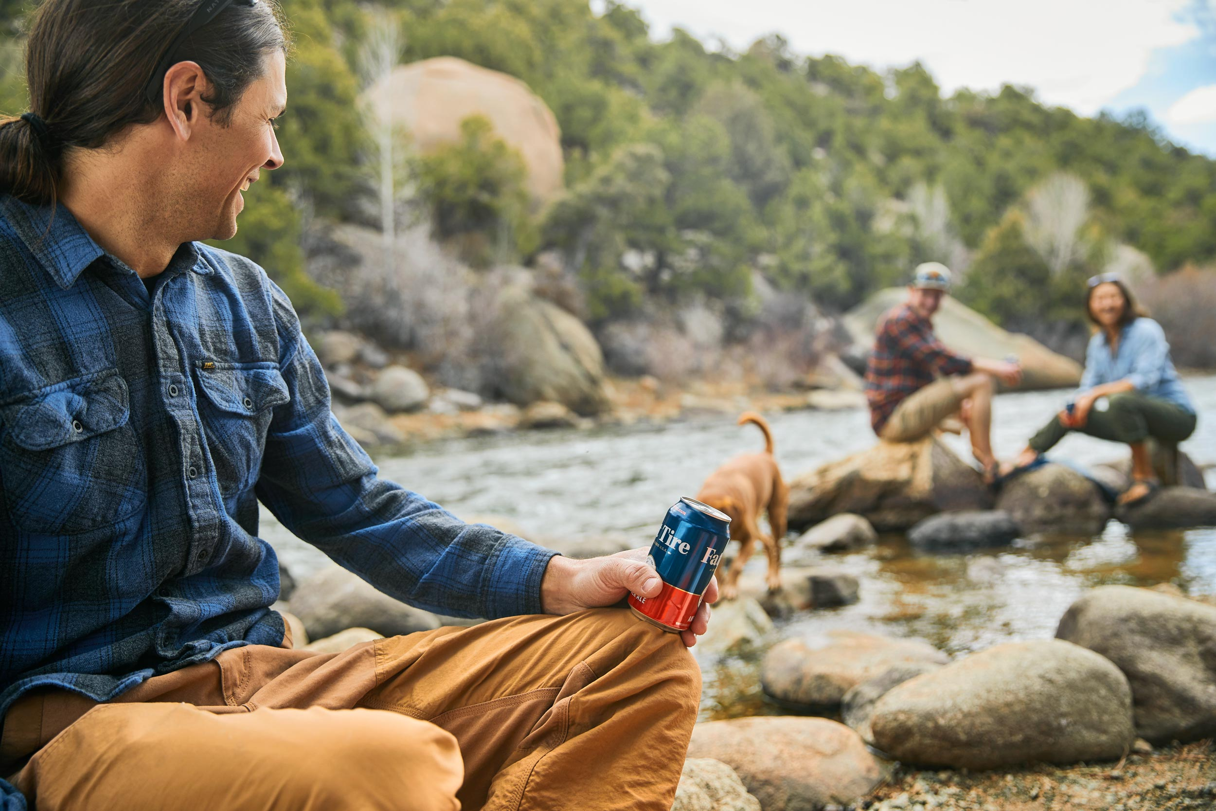 Andrew Maguire photographs a Fat Tire campaign in picturesque Colorado for New Belgium Brewing.