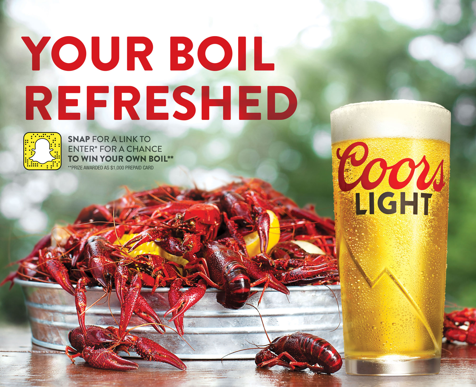 Coors Light Your Boil Refreshed