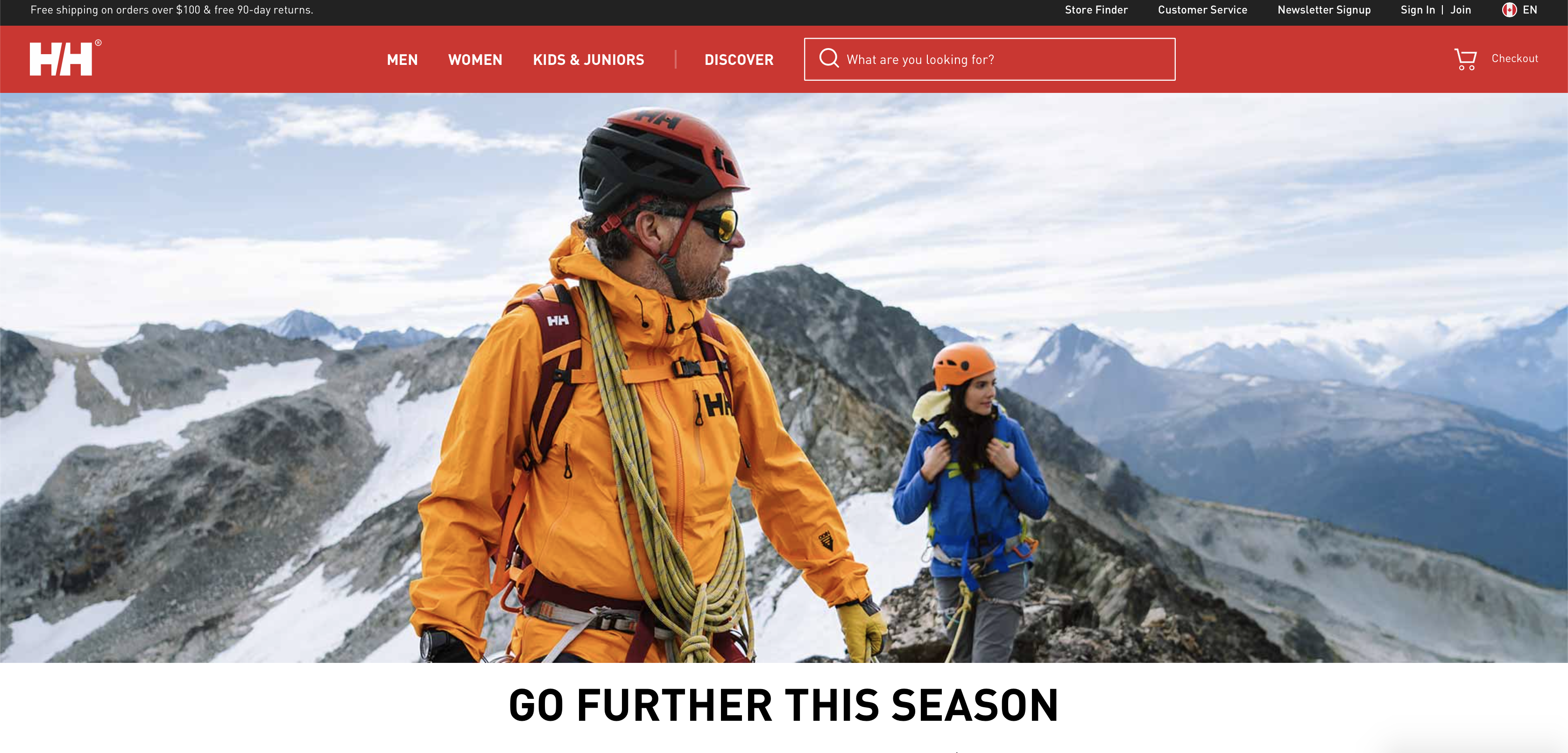 Michael Overbeck's work for apparel company Helly Hansen