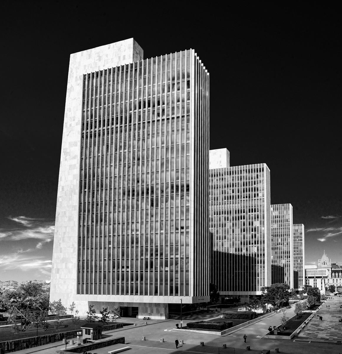 Empire Plaza Photographed by David Fonda