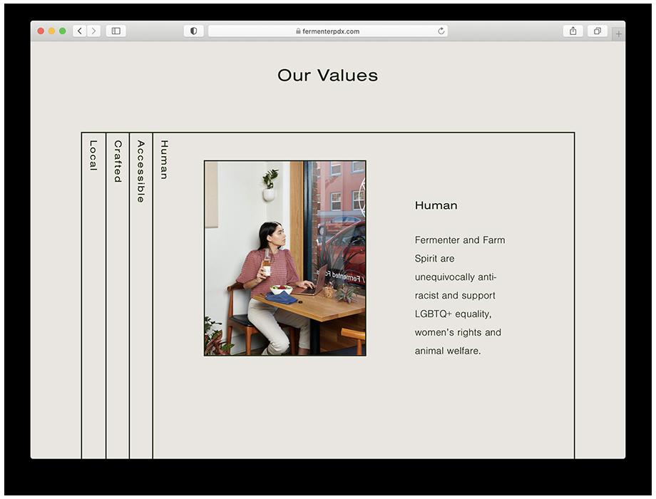 Dina's photograph on Fermenter's website.