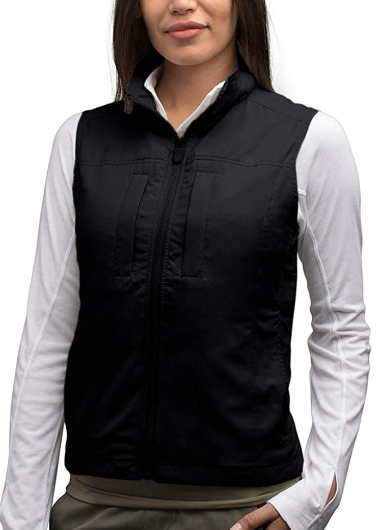 Protective vest for a protest that prevents digital and physical pickpocketing