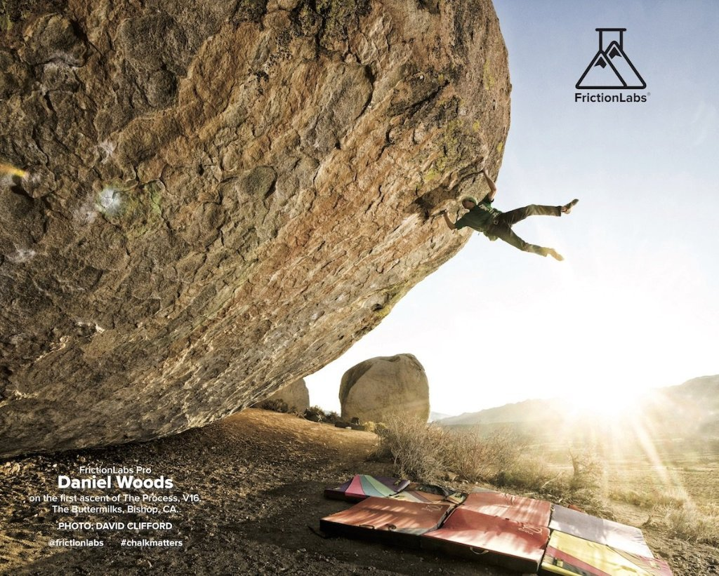 David Clifford's photo was used to promote Friction Labs.