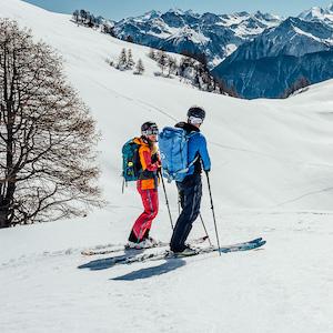 Frederik van den Berg Goes Skiing for Bergwelten Magazine