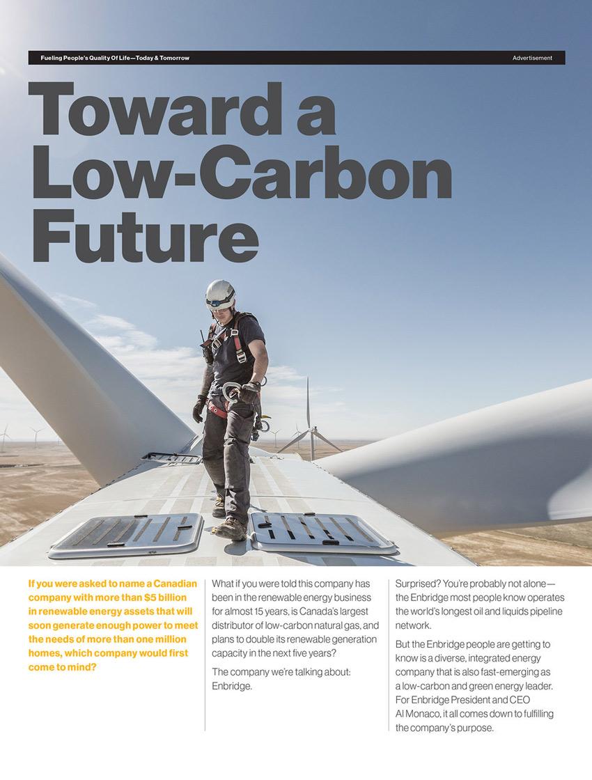 Gerard Yunker photographs renewable energy for Enbridge