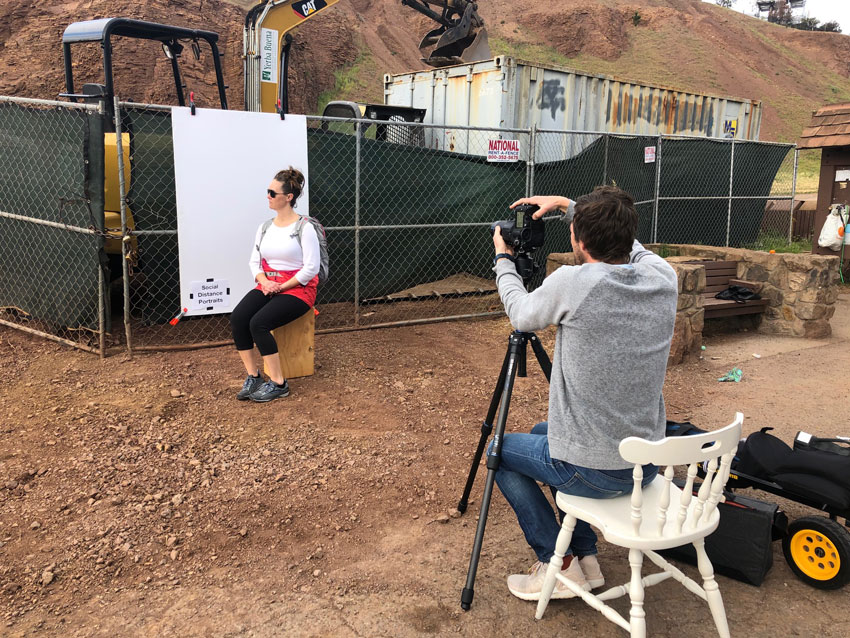 Ian Tuttle Social Distance Portraits Behind The Scene