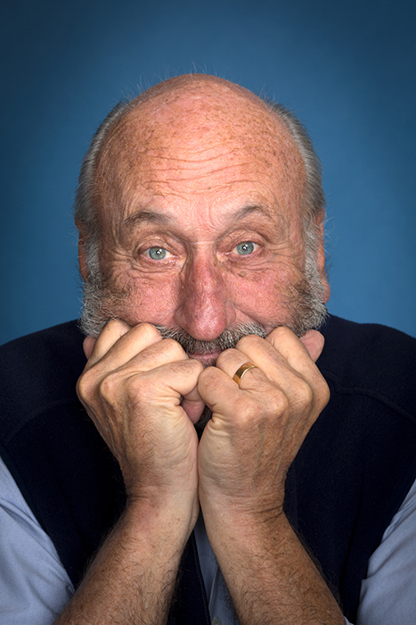 Noel Paul Stookey (of the folk trio Peter, Paul, and Mary) photographed by Jason Page Smith for Maine Seniors.