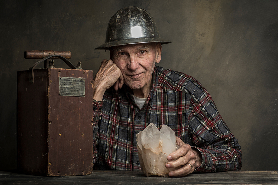 Herb Crosby photographed by Jason Page Smith for The Oldest State.