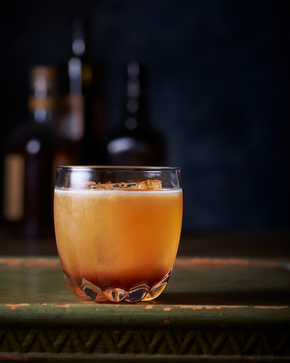 """John Valls' """"Perfect Moment"""" for Imbibe Magazine - Cocktail in Round Lowball Glass"""
