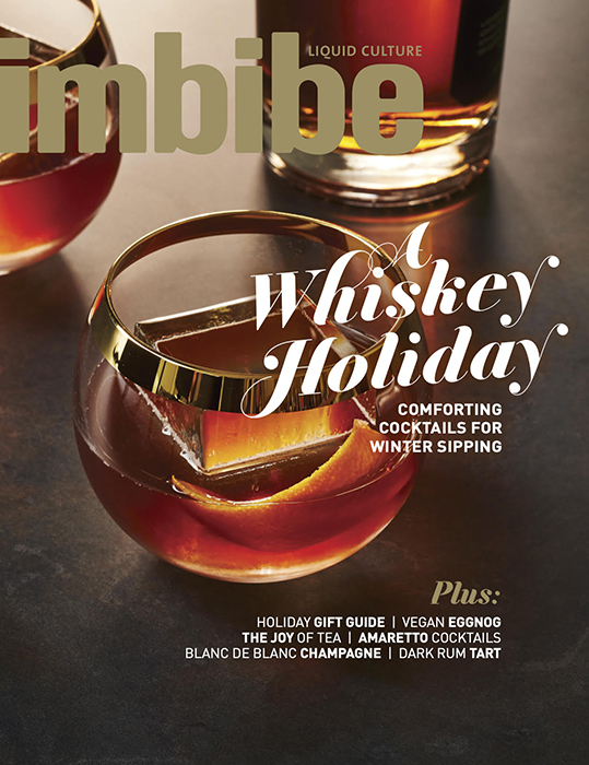 "John Valls' ""Perfect Moment"" for Imbibe Magazine - Cover of Imbibe Magazine"