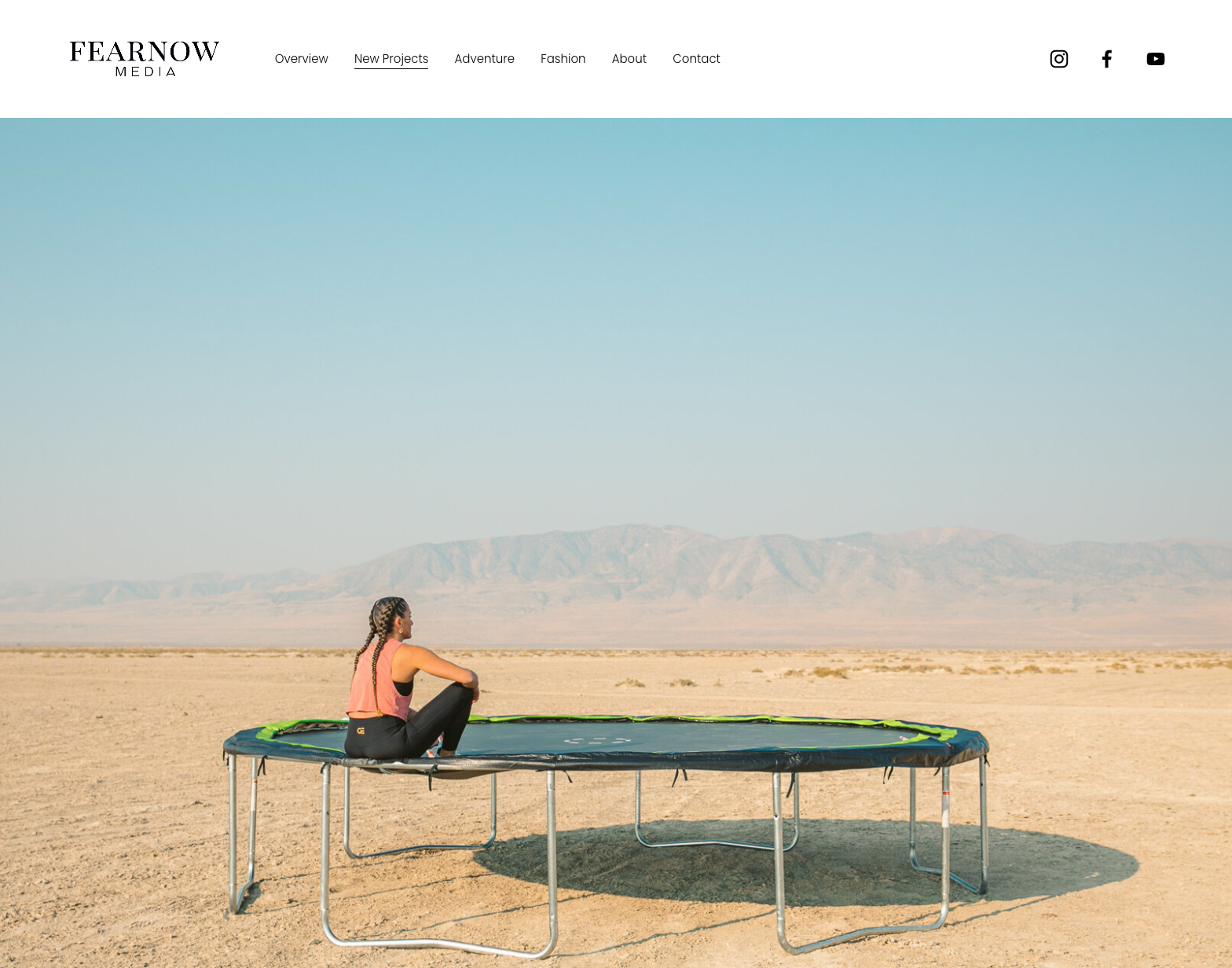 Keith Fearnow's new website presentation, including one of his recent personal projects