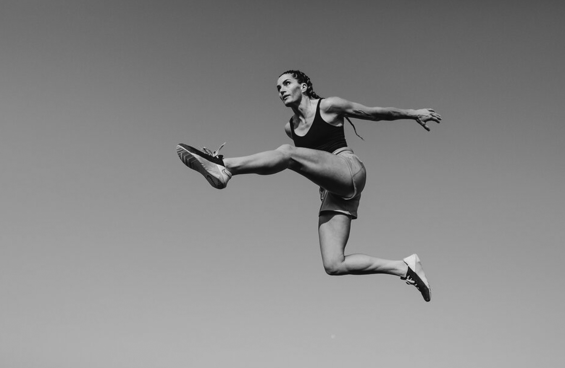 A shot from Keith's recent personal project about trampolining