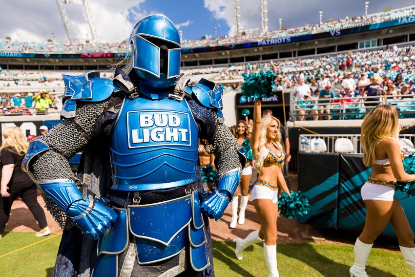 Ketterman Bud Light Bud Knight