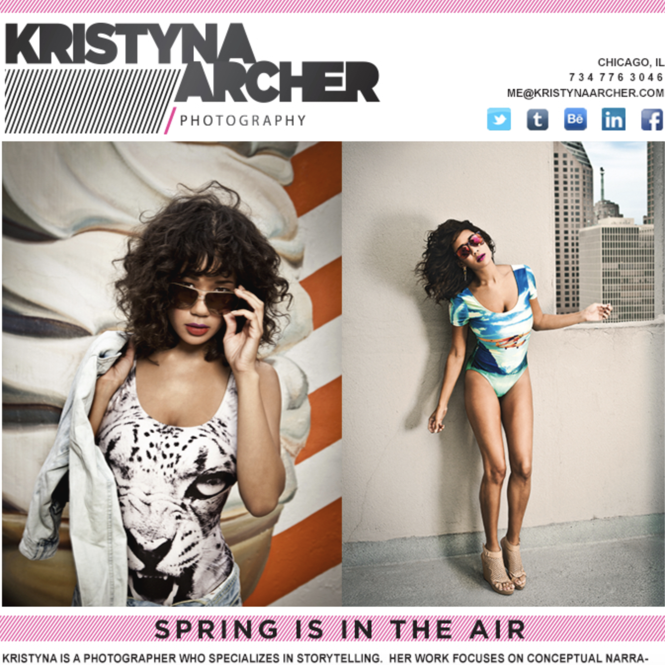 Design: Kristyna Archer Springs Forward