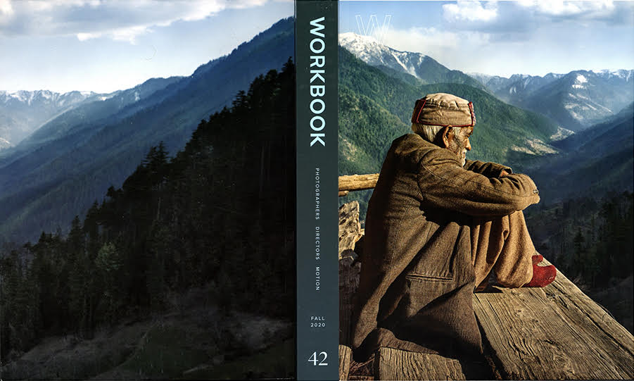 Mark Katzmans image featured on Workbooks cover for fall