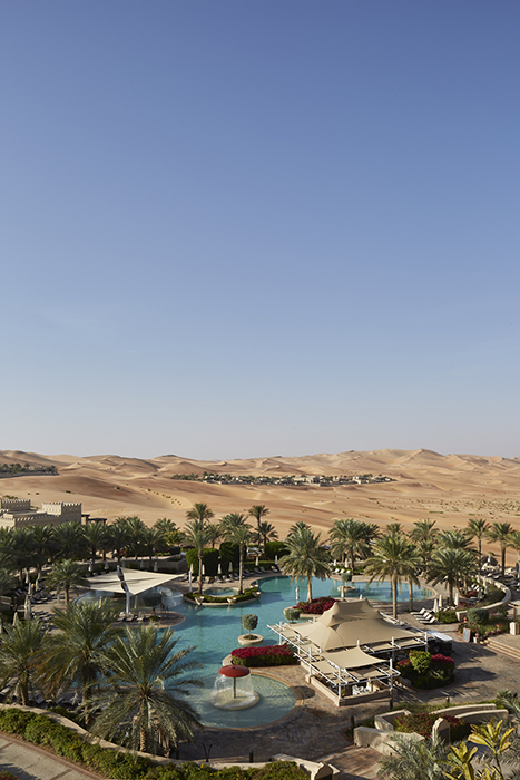 Martin westlake photographs the Qasr Al Sarad resort for DestinAsian