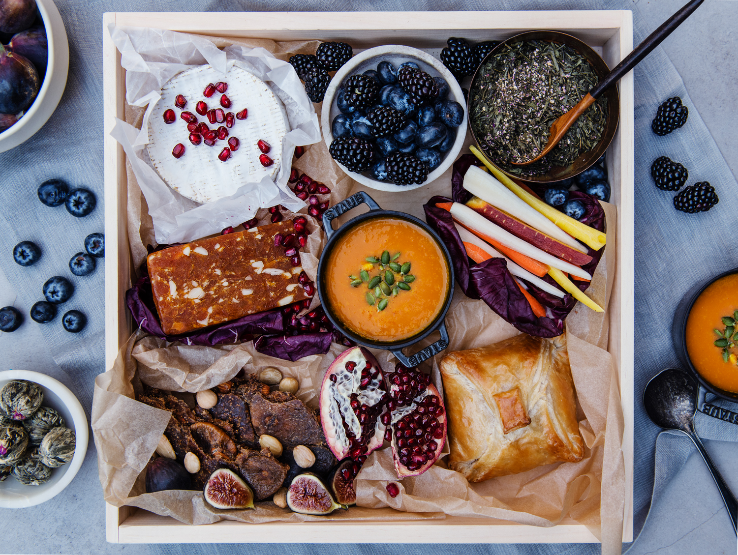 Nourish Board shot by Michael Marquand for Modern Charcuterie.