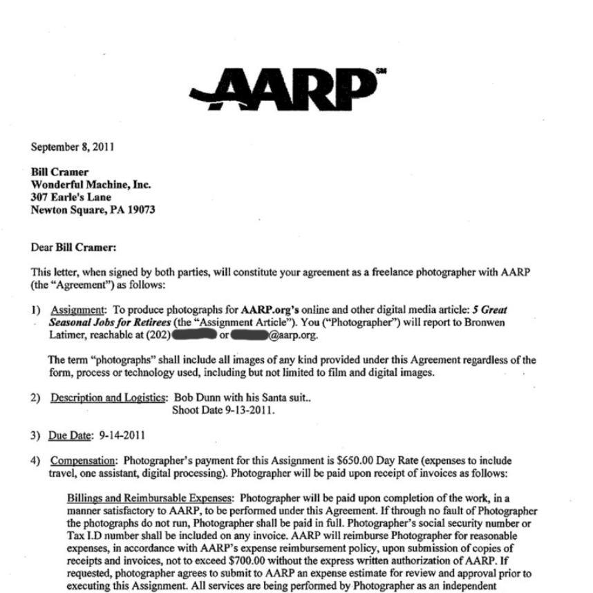 Pricing & Negotiating: AARP.org Contract