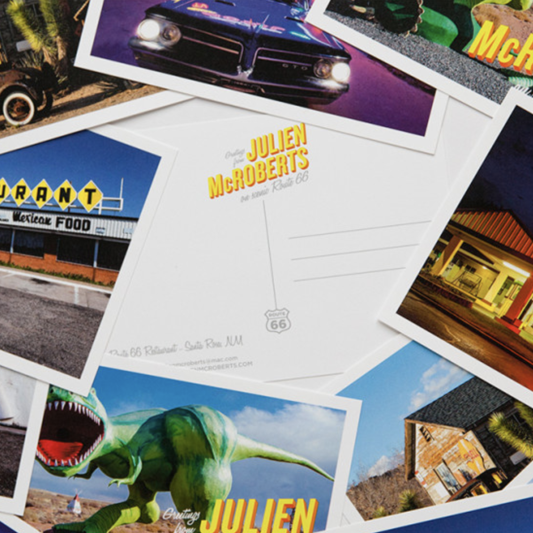 Design: Postcards from Route 66
