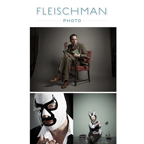Emailer: A New Look for Richard Fleischman