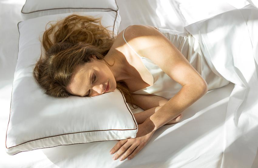 Buff Strickland photographed Saatva bedding for Saatva Dreams
