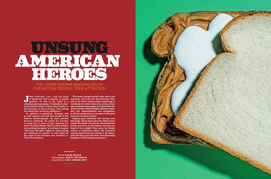 Scott Suchman photographs fluffernutter for American Way Unsung Heroes