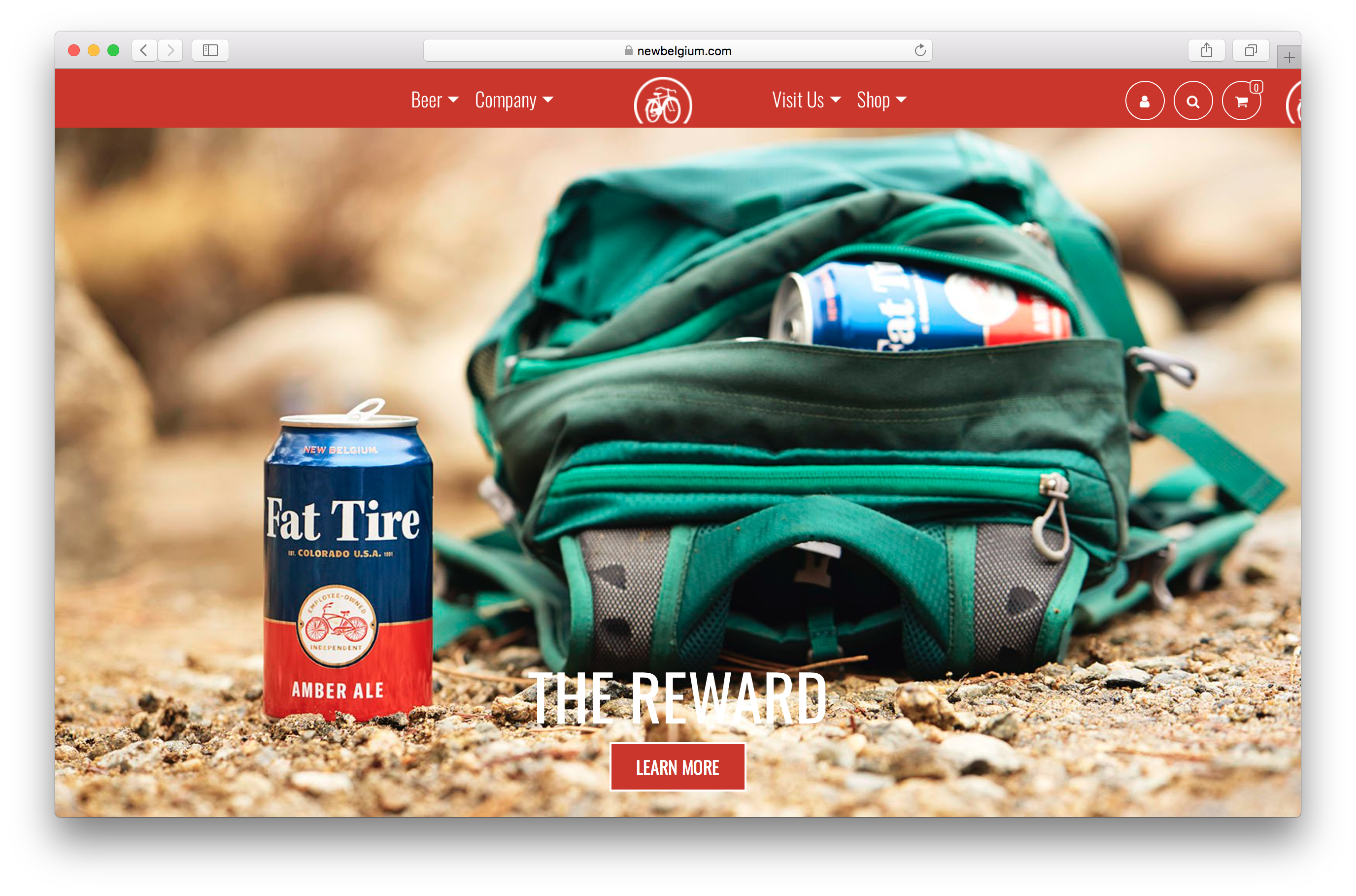 Andrew Maguire photographs a Fat Tire campaign in picturesque Colorado for New Belgium Brewing-webpage.