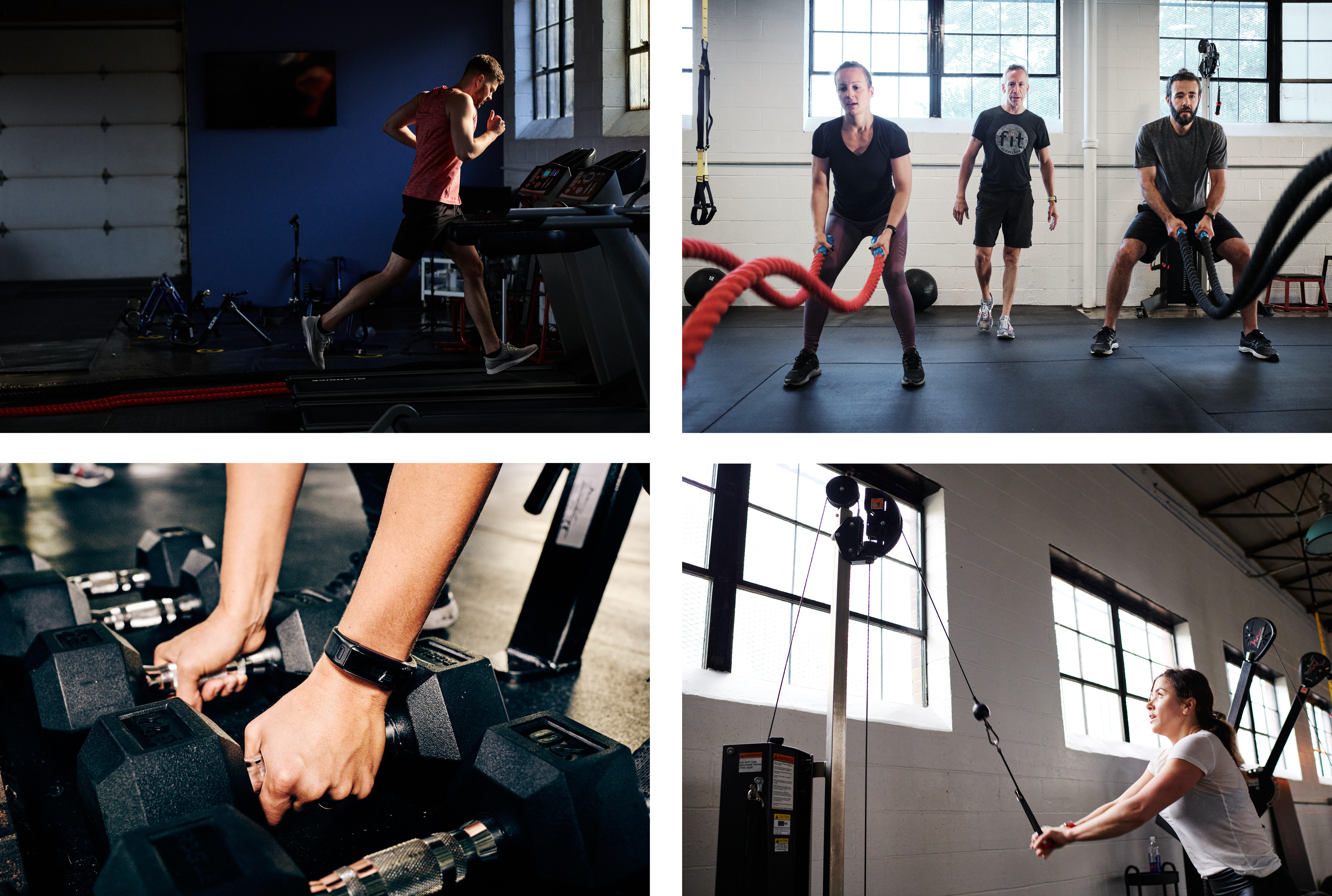 A look at Angelo's imagery for a Cleveland-based fitness client
