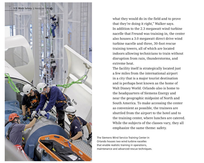 Thomas Winter photographs industrial workers for Siemens