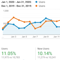 Analytics: January 2020
