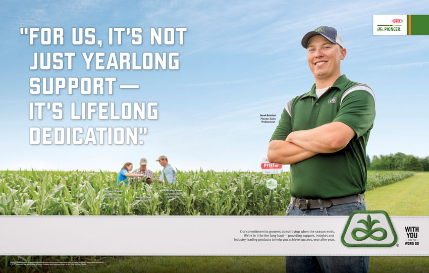 Chad Holder DuPont Pioneer tearsheet