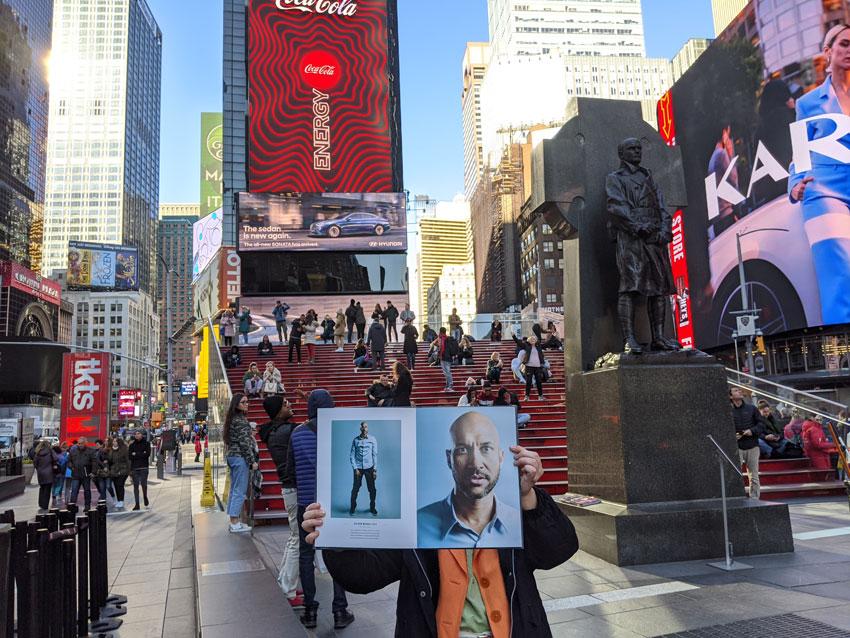 Amanda Westcott's portfolio travels to New York