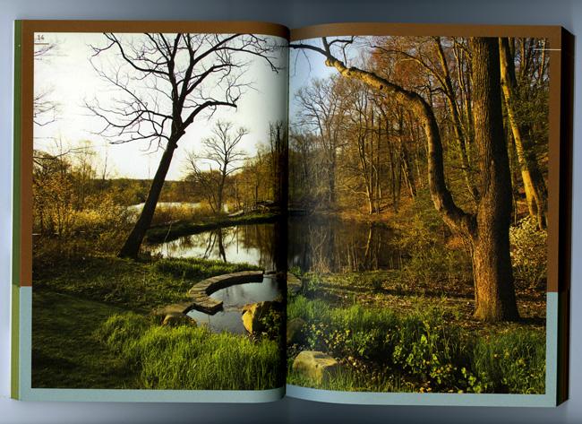 Nature Preserve Guidebook full spread
