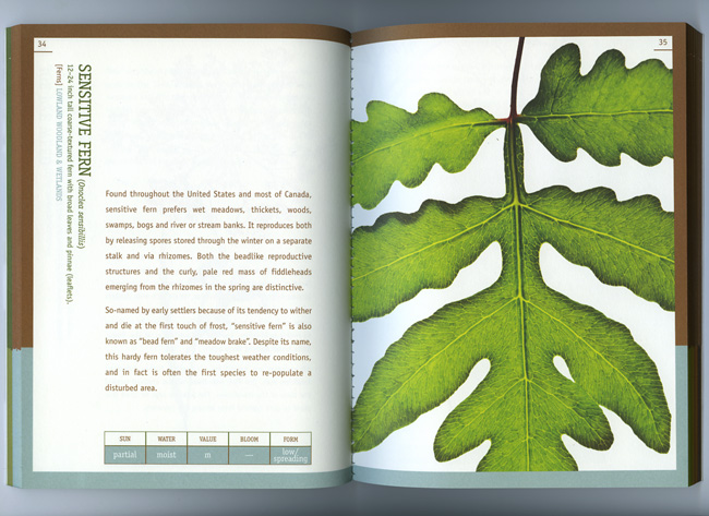 Nature Preserve Guidebook page example