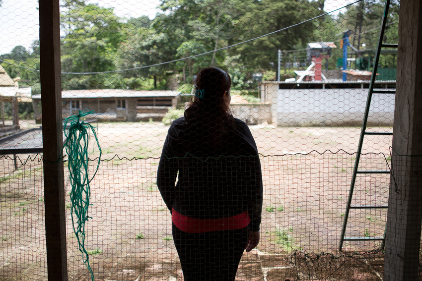Photo published on The Intercept taken as part of an IWMF Adelante reporting fellowship by Alicia Vera