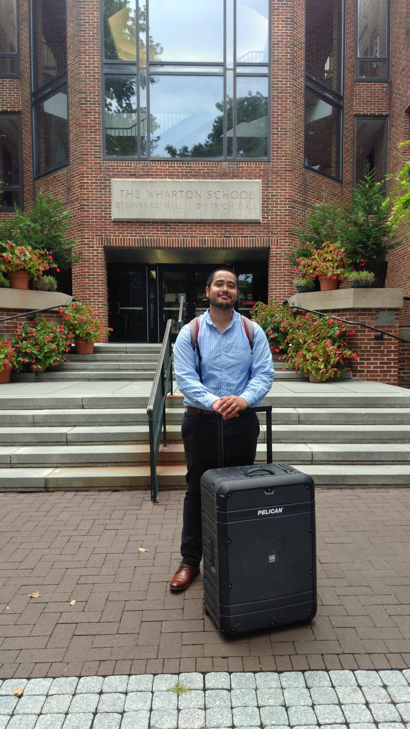Wharton School portfolio visit