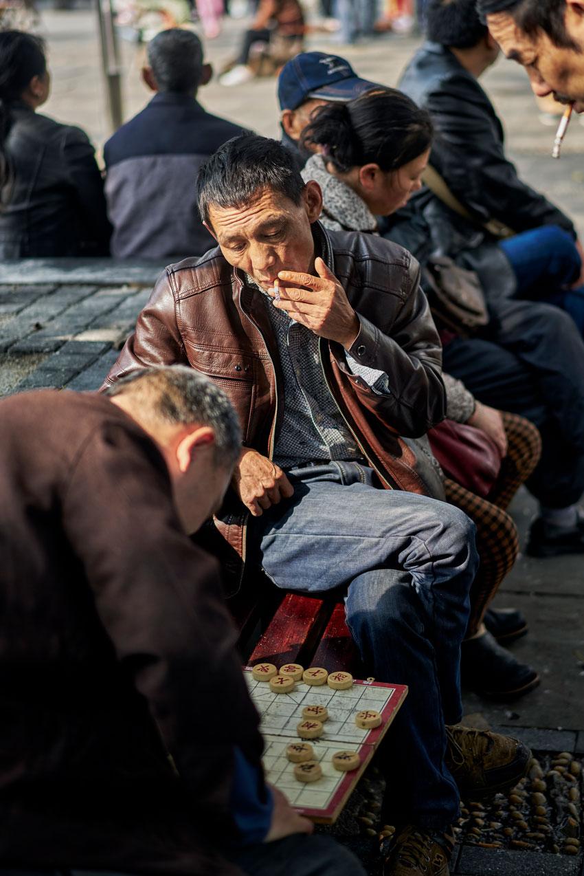 Jason Keen China trip man smoking cig