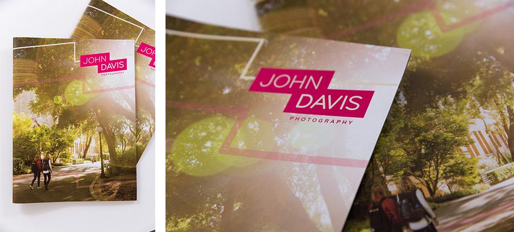 First shot of John Davis' finalized print promo