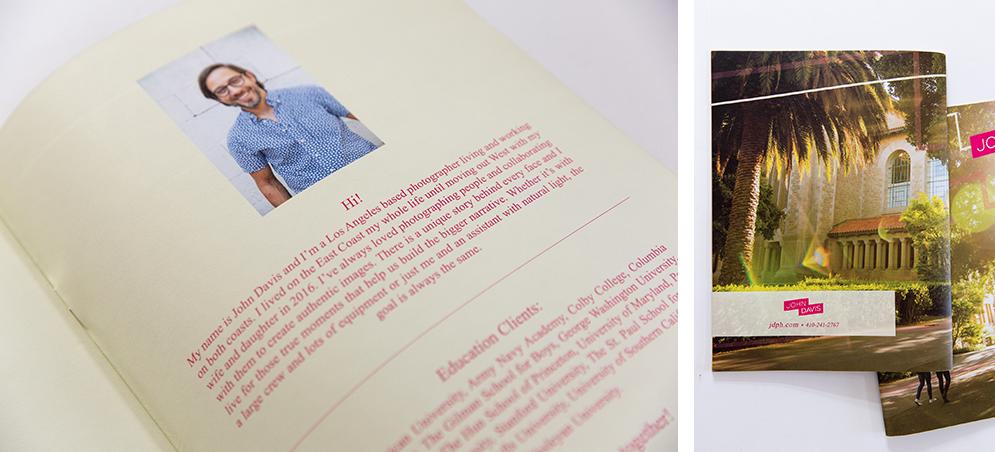 Fifth shot of John Davis' finalized print promo