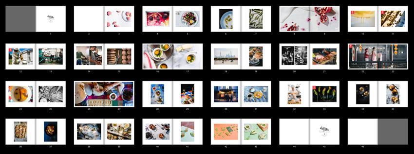Screenshot of Lauren V. Allen's photographer portfolio layout