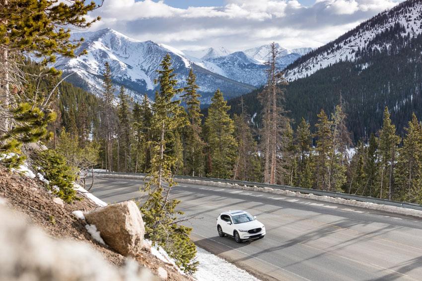 Matt Jones, Mazda, landscape