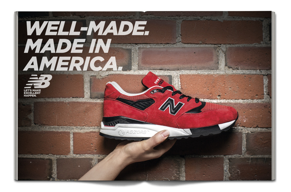 New Balance Let's Make Excellent Happen Campaign