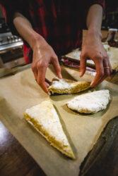 Baking Scones With Teddy In Santa Cruz, CA