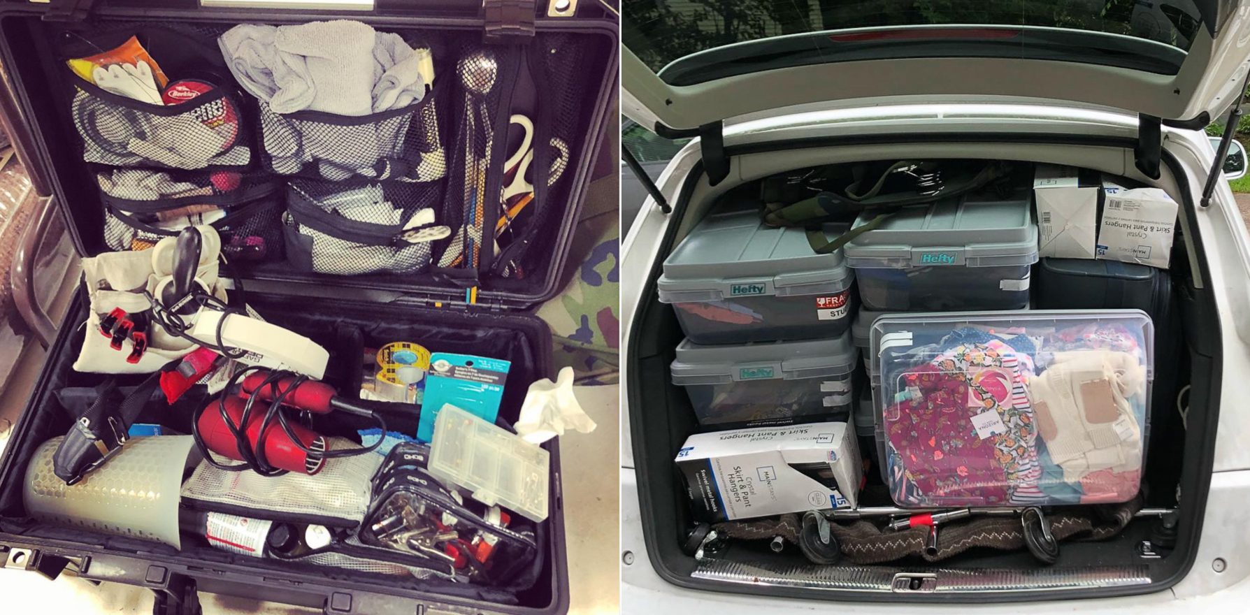the car of a prop stylist