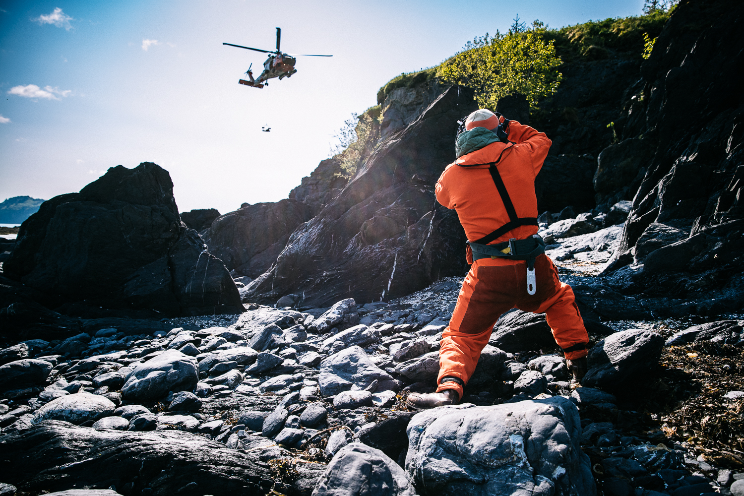 Justin Bastien is shooting the Coast Guard for Red Bullet Magazine.
